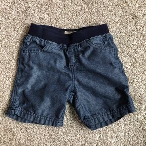 Lucky Brand Chambray Shorts 24 Months